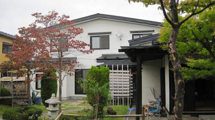 青森市浪岡 稲村 中古住宅(事務所・車庫付き)