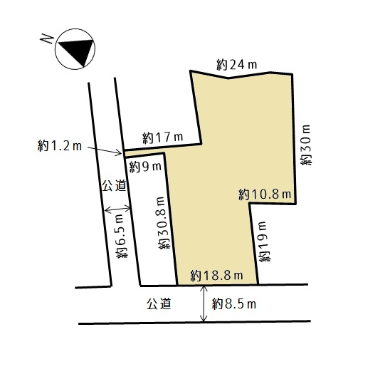 青森市浜館3丁目 売地