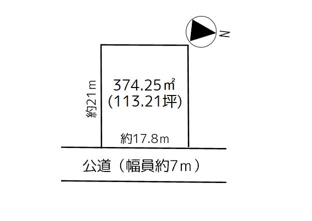 浪岡 浪岡福田二丁目 売地