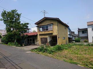 弘前市 緑ヶ丘二丁目 売地(古家付)