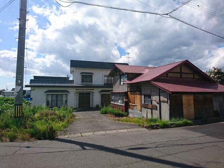 浪岡 本郷篠原 売地(古家付)