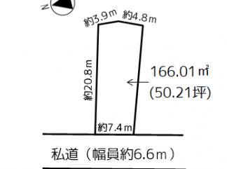 浪岡 女鹿沢字平野 売地