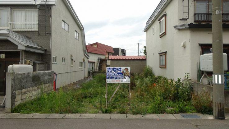 青森市 篠田3丁目 売地
