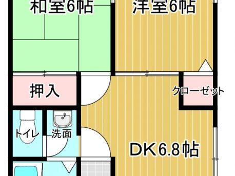 青森市佃 シティハイムK 102