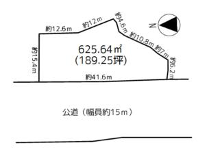 浪岡 大釈迦字山田 売地(建築条件付)
